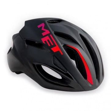 Met Rivale Road Bike Helmet Black Pink