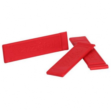Zefal Z Tyre Lever Set of 3 -Red