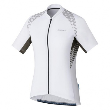 Shimano Escape Womens Jersey Short Sleeves White 2017