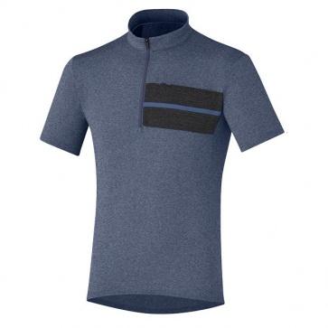 Shimano Transit Jersey Short Sleeves Crown Blue