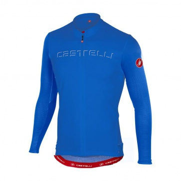 Castelli Prologo V Long Sleeve Jersy Blue