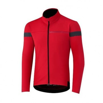 Shimano Windbreak Long Sleeve Jersey Red