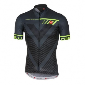 Castelli Velocissimo Jersey Charcoal