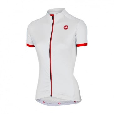 Castelli Women's Anima Jersey White