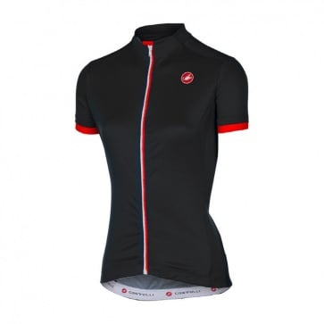 Castelli Women's Anima Jersey Black