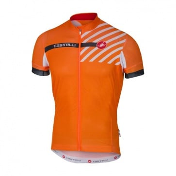 Castelli Free AR 4.1 Jersey FZ Orange