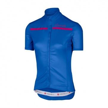 Castelli Women's Imprevisto Jersey Matte Blue