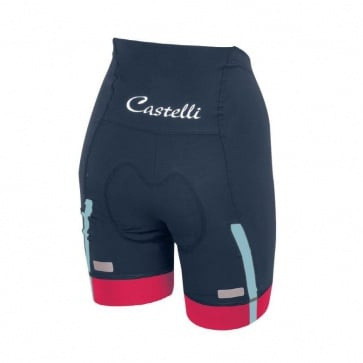 Castelli Velocissima Women's Short Midnight Navy