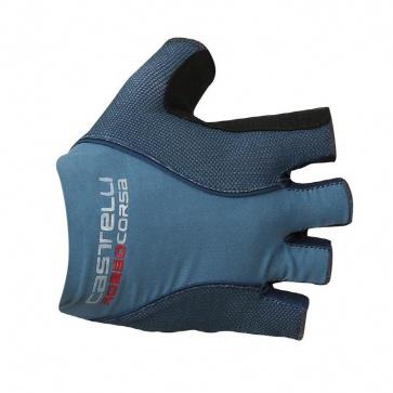 Castelli Rosso Corsa Pave Gloves Saturn Blue/Navy