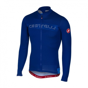 Castelli Jersey Prologo V Long Sleeve Jersey Surf Blue