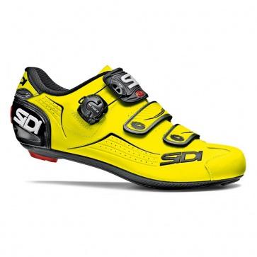 Sidi ALBA Road Bike Shoes Tecno-3 Yellow Black