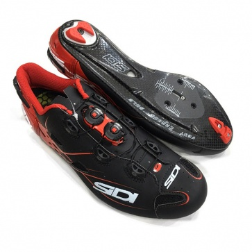 Sidi Shot Road Shoe Tecno-3 Push Matt Black Red