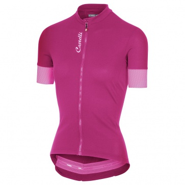 Castelli Anima 2 Jersey FZ Women Pink