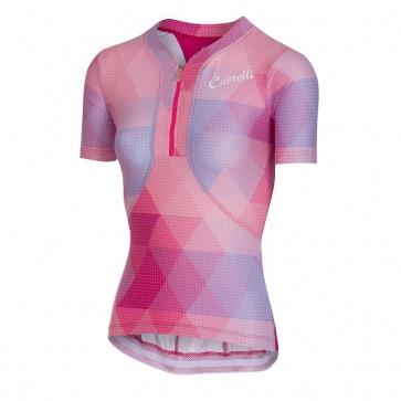 Castelli Alba Jersey Women Pink