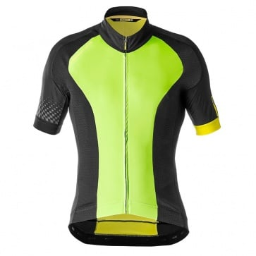 Mavic Cosmic Elite Jersey Lime Green