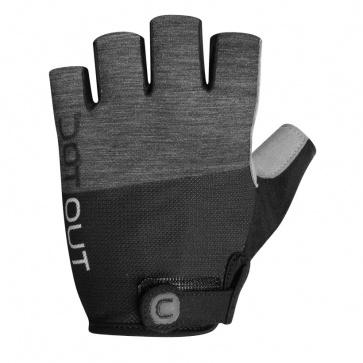 Dotout Pin Glove Melange Dark Grey-Black