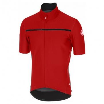 Castelli Gabba 3 Short Sleeve Jacket Red
