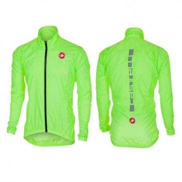 Castelli Squadra ER Jacket Yellow