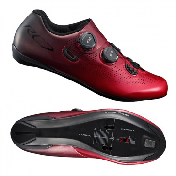 Shimano SH-RC7 Road Racing Shoe (Wide) Red