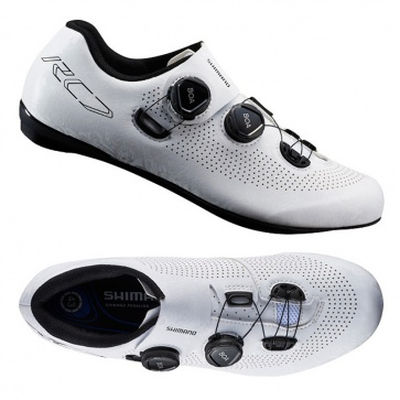 Shimano SH-RC7 Road Racing Shoe (Wide) White