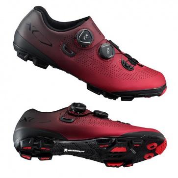 Shimano SH-XC7 MTB Racing Shoe (Wide) Red