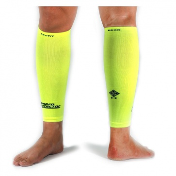 Compro Compression Calf Sleeves Lime