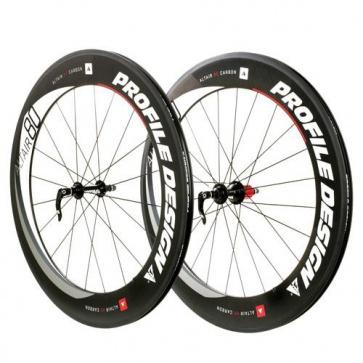 Profile Design Altair Full Carbon Clinchers 80 Wheel Set