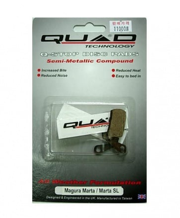 QUAD Magura Marta SL Disc Brake Pads Shoes QDP-09