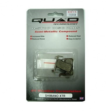 Quad Shimano XTR disc Brake pads Shoes QDP-11