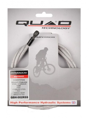Quad Stainless Hydraulic Bike Brake Pipe QBH-002RSS