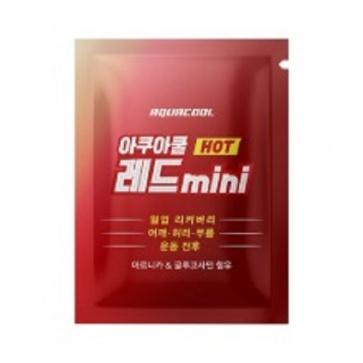 AQUACOOL Red Mini Pouch 3mlx30ea