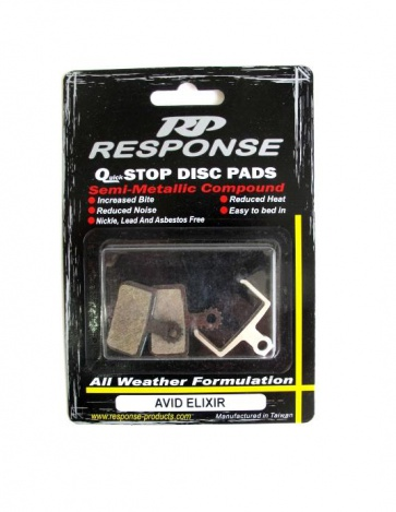 Response Avid Elixir Disc Brake Pads Semi Metallic