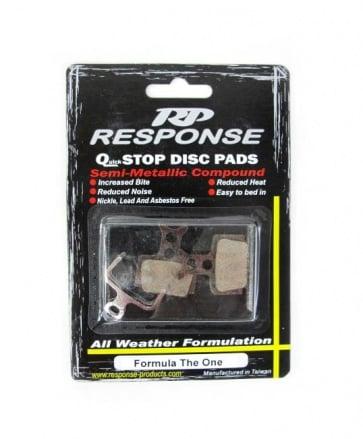 Response Formular The One Disc Brake Pads Semi Metallic