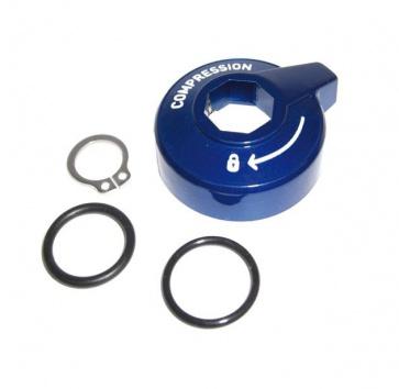 RockShox Comp Adjust Knob Turnkey Kit 11 Tora TK 11 Recon Silver