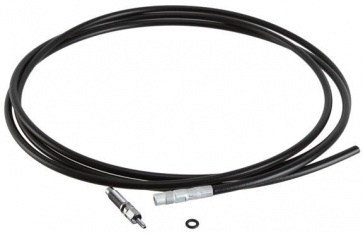 Rock Shox Reverb tubing kit with barb/relief, 2000mm - black