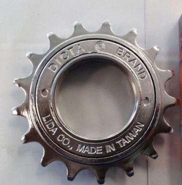 Curb Dog Freewheel 17t 3-32 English Chrome