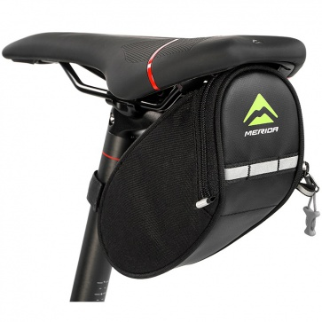 Merida Logo Saddle Bag Black