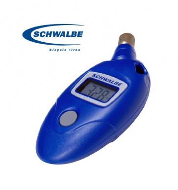 Schwalbe Airmax Pro digital pressure gauge bicycle tyre