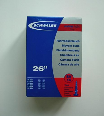 Schwalbe SV14 Bicycle Inner Tube 26x1.5~2.35