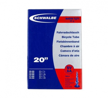 Schwalbe SV6A Bbicycle Tube Presta 20x1.25~1.5