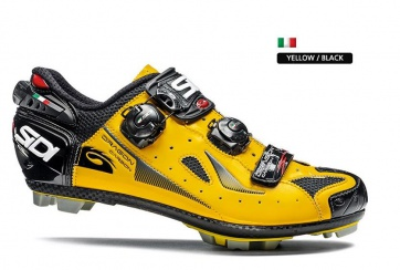 Sidi Dragon4 SRS Carbon Compsite MTB Shoes Yellow Black