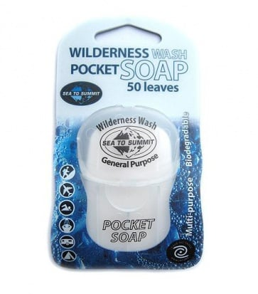 Seatosummit Wilderness wash pocket soap
