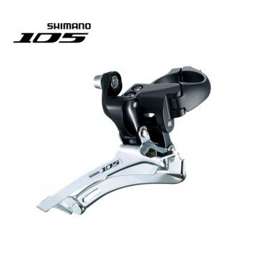 Shimano 105 FD-5600 Front Derailleur Down Swing Black