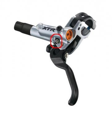 Shimano Bl-M988 strock adjuster screw and plate Y8V398020