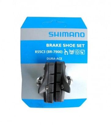 Shimano BR-7900 R55C3 duraace brake shoes set Y8FN98070