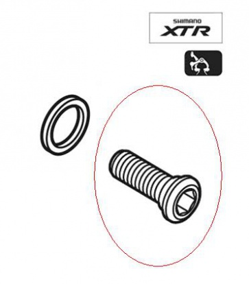 Shimano BR-M950 970 Brake Arm Fixing Bolt 21.5mm