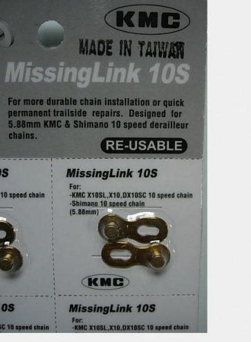 Shimano Campagnolo and KMC 10 SP chain link