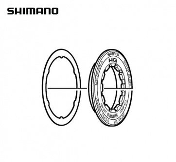 Shimano CS-6600 Lockring Washer 12T Y1ZD98020
