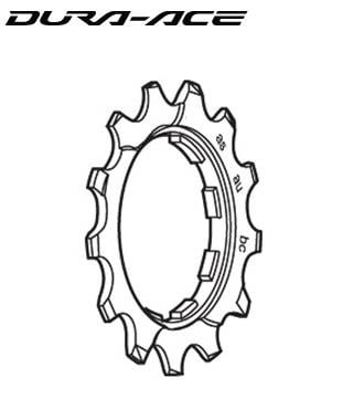 Shimano CS-9000 12T Sprocket Wheel