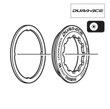 Shimano CS-9000 Lock RIng Spacer For 11-12T